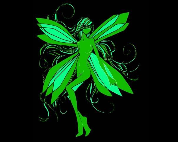 A fada verde do absinto